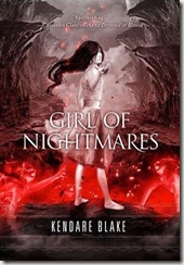 Girl of Nightmares by Kendare Blake book cover