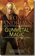 Gunmetal Magic by Ilona Andrews book cover