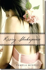 Kissing Shakespeare by Pamela Mingle book cover