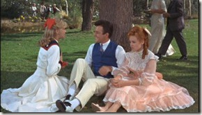 Nancy, Charles, and Julia in Summer Magic