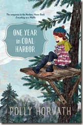One Year in Coal Harbor by Polly Horvath book cover