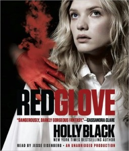 Red Glove by Holly Black audio book cover