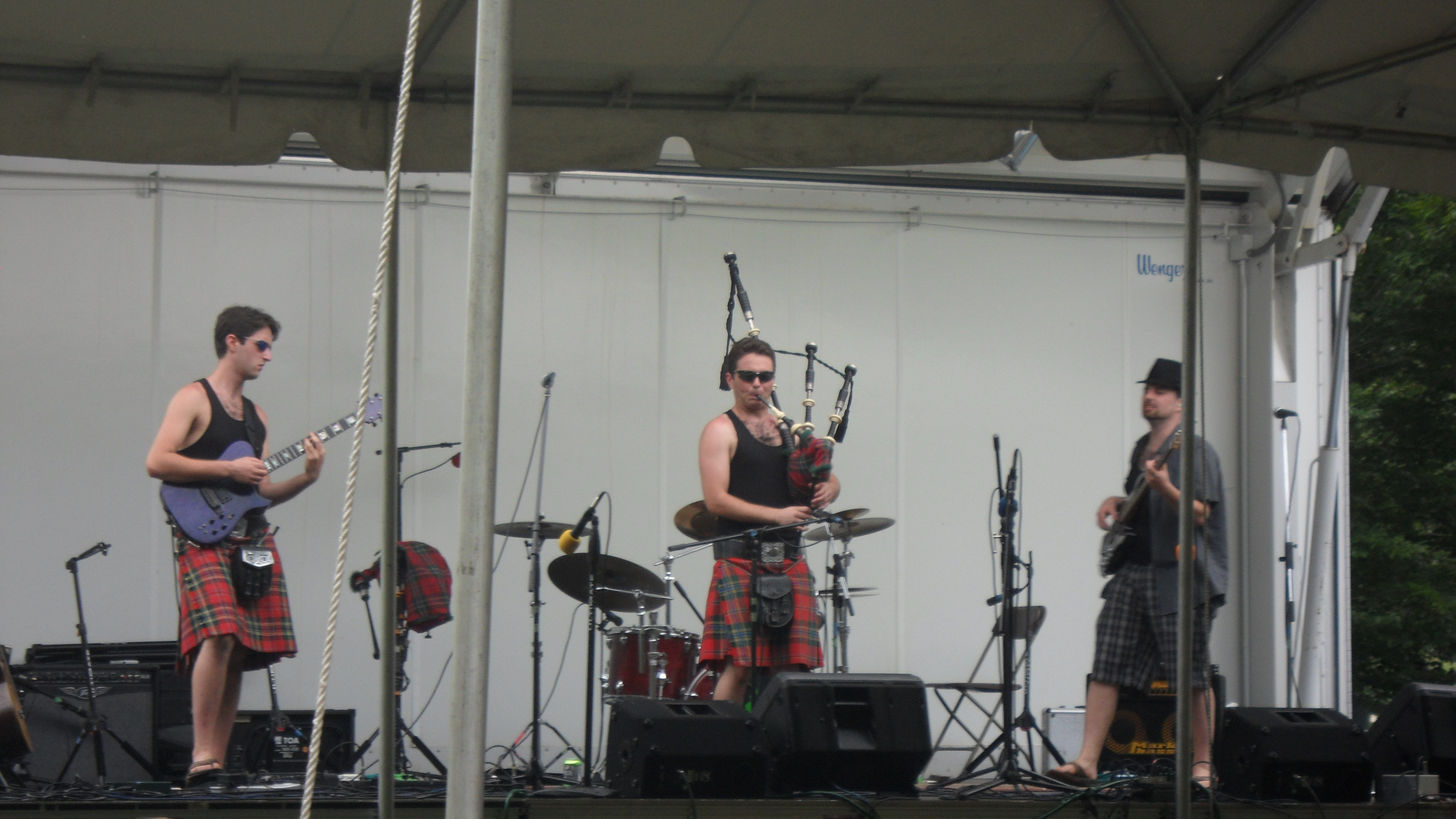 Long Island Scottish Festival Main Stage