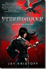 Stormdancer by Jay Kirstoff book cover