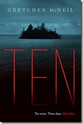 Ten by Gretchen McNeil book cover