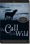 The Call of the Wild by Jack London book cover
