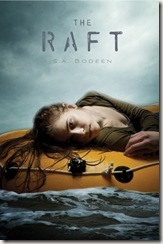 The Raft by S.A. Bodeen book cover