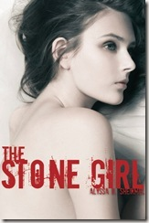 The Stone Girl by Alyssa B. Sheinmel book cover