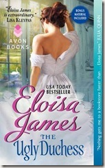 The Ugly Duchess by Eloisa James book cover