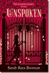 Unspoken by Sarah Rees Brennan book cover