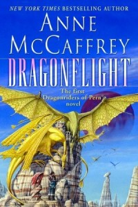 Dragonflight by Anne McCaffrey book cover