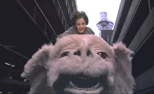 Falcore the Luck Dragon from The Neverending Story