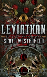 Leviathan by Scott Westerfeld book cover